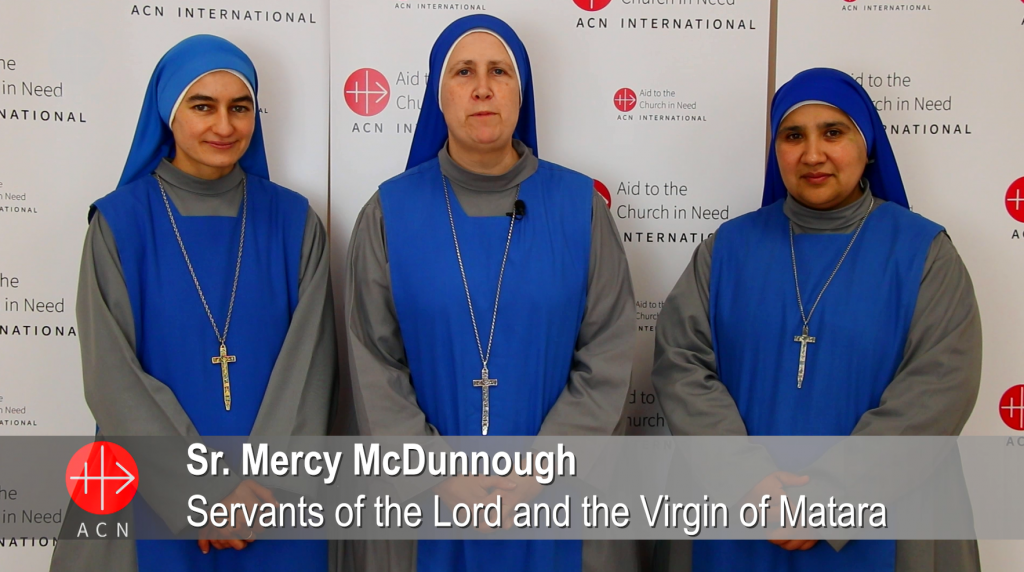 A message of Sister Mercy McDunnough (Servants of the Lord and the Virgin of Matara)