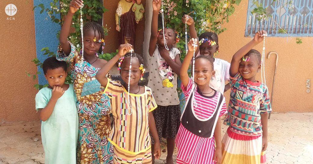 Children worldwide pray for peace and unity in the world