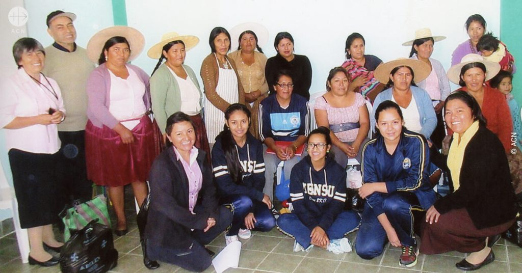 Support for the life and apostolate of five religious sisters in Cochabamba, Bolivia
