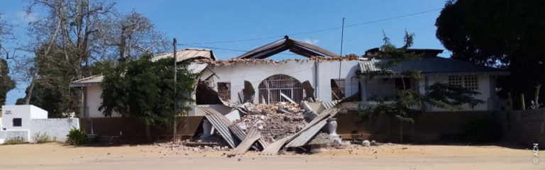 """Mozambique: the last three years have been """"an experience of the cross"""""""