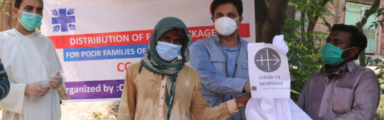 Pakistan: coronavirus emergency aid for three dioceses – Success Story