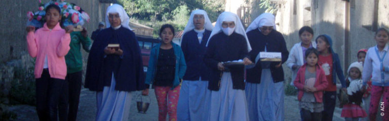 Bolivia: Support for six religious sisters in the poor parishes of the Andes