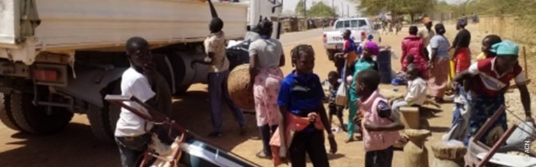 Burkina Faso: Caught between two fronts